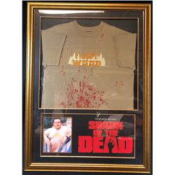 "Shaun of the Dead (2004) - Ed (Nick Frost) ""I Got Wood"" Shirt"