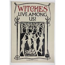 "Fantastic Beasts and Where to Find Them (2016) - ""Witches Live Among Us!"" Pamphlet - Lot A"