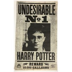 Harry Potter and the Deathly Hallows: Part 1 (2010) - Harry Potter Undesirable No1 Flyer