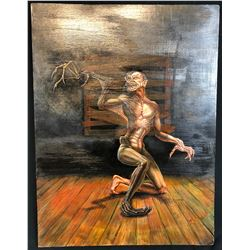 From Dusk Till Dawn (1996) - Vampire Original Concept Oil Painting by Shannon Shea