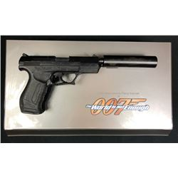 James Bond - The World Is Not Enough (1999) - Pierce Brosnan Walther P99 Gun With Suppressor
