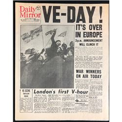 Captain America: The First Avenger (2011) - VE-DAY Newspaper Prop