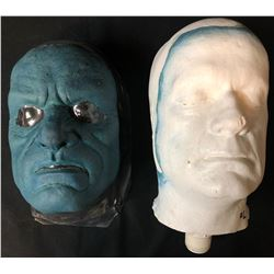 X-Men: The Last Stand (2006) - Kelsey Grammer Screen Used Beast Mask and Life Cast