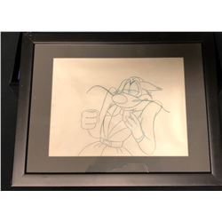 """Mighty Mouse: The New Adventures (1987–1988) - Original Production Drawing of """"Oil Can Harry"""""""