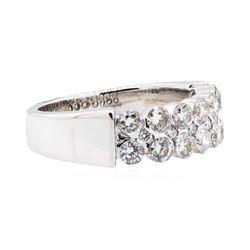 18KT White Gold 1.52 ctw Diamond Wedding Band