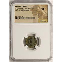 Constantine I, 307-337 AD Ancient Roman Empire Coin NGC VF