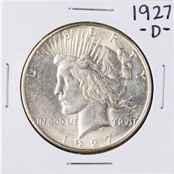 1927-D $1 Peace Silver Dollar Coin