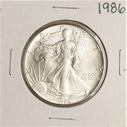 1986 $1 American Silver Eagle Coins