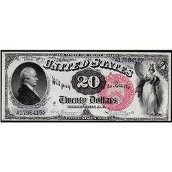 1880 $20 Legal Tender Note