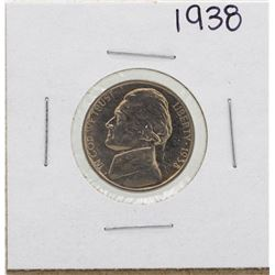 1938 Jefferson Nickel Proof Coin