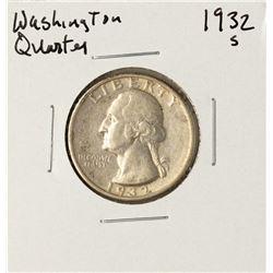1932-S Washington Quarter Coin