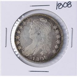 1808 Capped Bust Half Dollar Coin