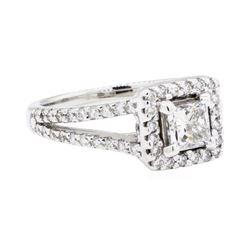 14KT White Gold 1.21 ctw Diamond Ring