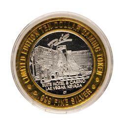 .999 Fine Silver Rio Las Vegas, Nevada $10 Limited Edition Gaming Token