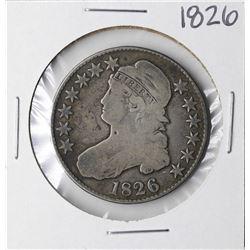 1826 Capped Bust Half Dollar Coin