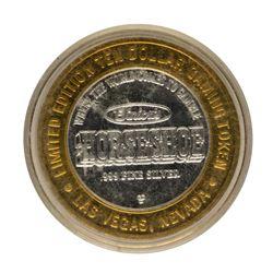 .999 Fine Silver Horseshoe Casino Las Vegas, NV $10 Limited Edition Gaming Token