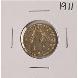 1911 Liberty V Nickel Coin