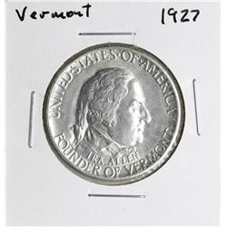 1927 Vermont Commemorative Half Dollar Coin