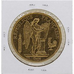 1879A France 100 Francs Gold Angel Coin