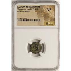 Theodosius I, 379-395 AD Ancient Eastern Roman Empire Coin NGC VF