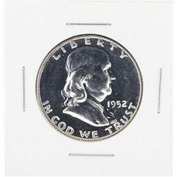 1952 Franklin Half Dollar Proof Coin