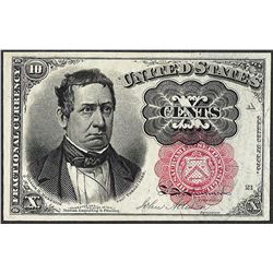 1874 Ten Cents Fifth Issue Fractional Currency Note