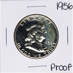 1956 Proof Franklin Half Dollar Coin