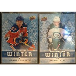 2017 Upper Deck Winter 2 Card Lot Connor Mcdavid #W5