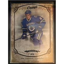 2015-16 Upper Deck Champs Gold Front Jake Virtanen RC