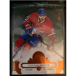 2017-18 Artifacts Orange Alex Galchenyuk Serial #30/55