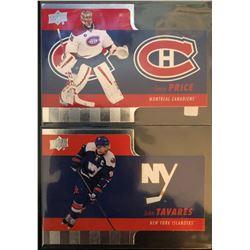 2015-16 Upper Deck Die Cuts X 2 Carey Price #TH-1, And