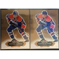 2016-17 Upper Deck Fleer X 2 Connor Mcdavid Card #49