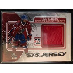 2010-11 In The Game Heroes And Prospects P.K. Subban