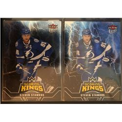 2016-17 Fleer Ultra Scoring Kings x 2 Steven Stamkos