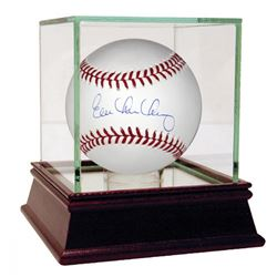 Evan Longoria Signed Baseball with High Quality Display Case (Steiner COA)