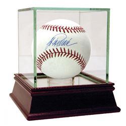 Jorge Posada Signed Baseball with High Quality Display Case (Steiner COA)