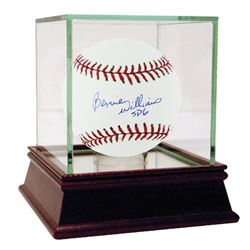 "Bernie Williams Signed Baseball Inscribed ""SDG"" with High Quality Display Case (MLB Hologram)"