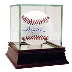 Michael Wacha Signed OML Baseball with High Quality Display Case (Steiner COA)