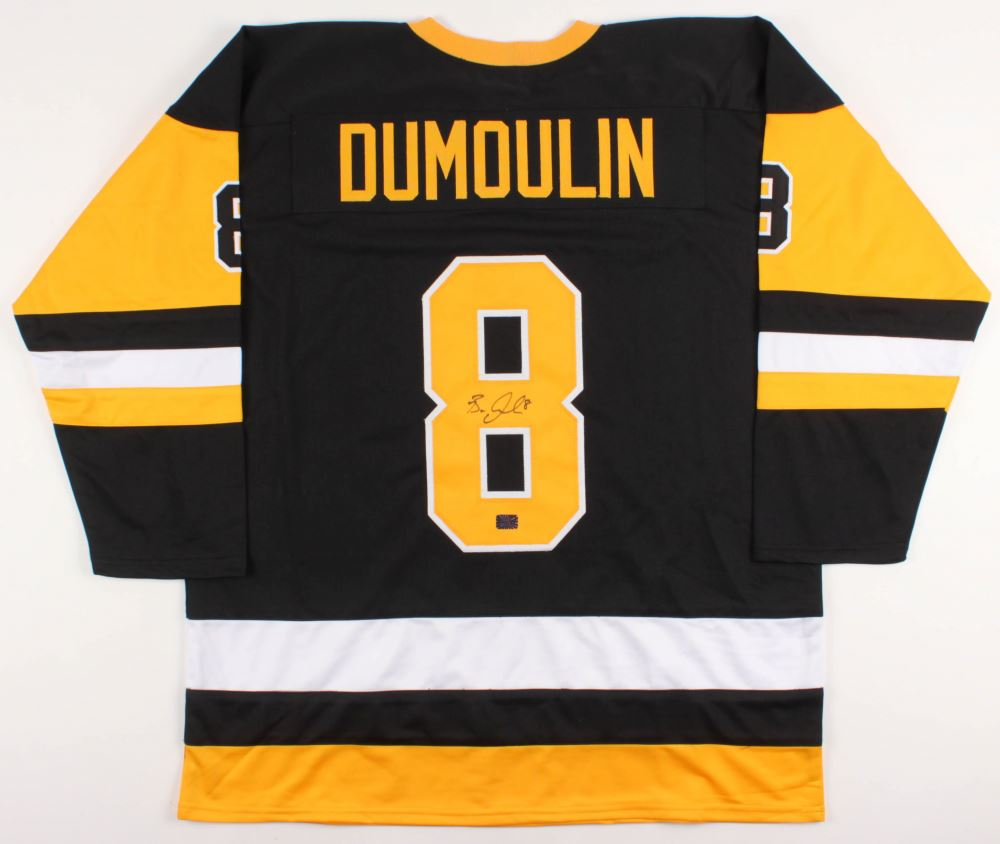 on sale 7e25e c6020 Brian Dumoulin Signed Pittsburgh Penguins Jersey ...