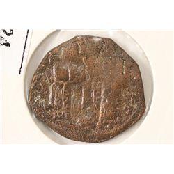 1295-1320 A.D. JESUS CHRIST WITH BIBLE BYZANTINE