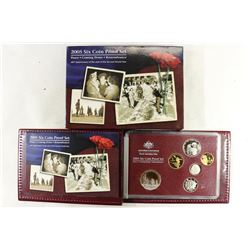 2005 AUSTRALIA 6 COIN PROOF SET PEACE-COMING HOME