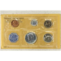 1964 US SILVER PROOF SET (WITH ENVELOPE)