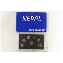 1973 NEPAL PROOF SET ORIGINAL MINT PACKAGING