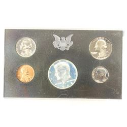1968 US PROOF SET WITHOUT BOX, 40% SILVER JFK HALF