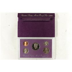 1989 US PROOF SET (WITH BOX)