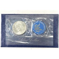 1974-S  IKE SILVER DOLLAR UNCIRCULATED (BLUE PACK)