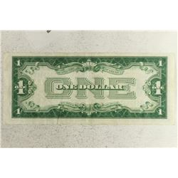 1928-A $1 FUNNY BACK SILVER CERTIFICATE BLUE SEAL