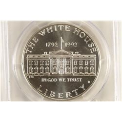 1992-D WHITE HOUSE COMMEMORATIVE SILVER DOLLAR