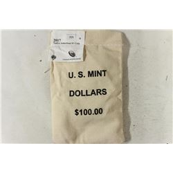US MINT SEALED $100 BAG 0F 2017-D NATIVE AMERICAN