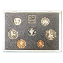 1987 UNITED KINGDOM PROOF COIN COLLECTION